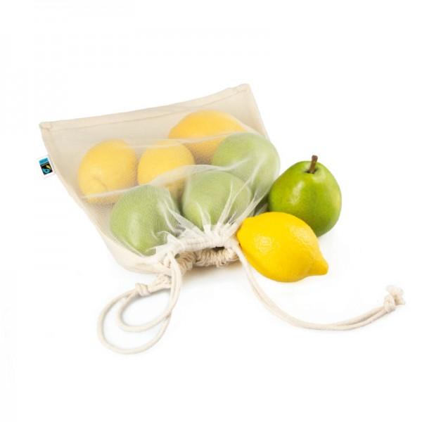 Eva Obst- und Gemüsebeutel klein Bio/ Fairtrade/ GOTS