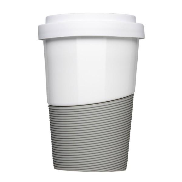 Coffee2Go Wave Kaffeebecher aus Porzellan