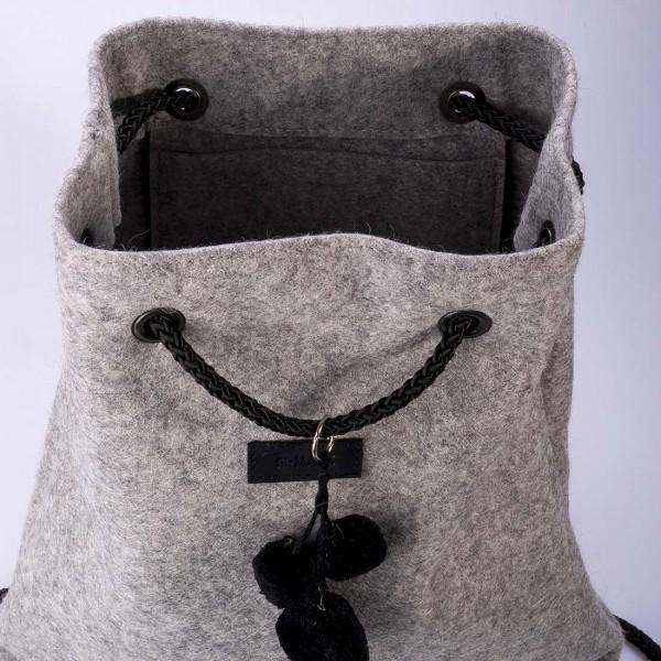 Bobo - Filz Backpack, Rucksack aus Filz